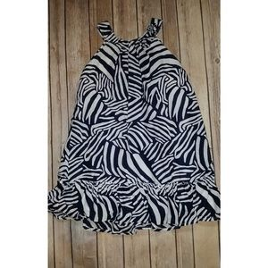 Gymboree Swim Shop Zebra Stripe Pattern Sundress